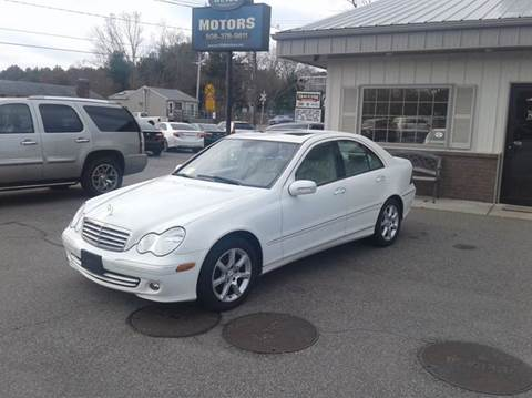 2007 Mercedes-Benz C-Class for sale at Route 106 Motors in East Bridgewater MA