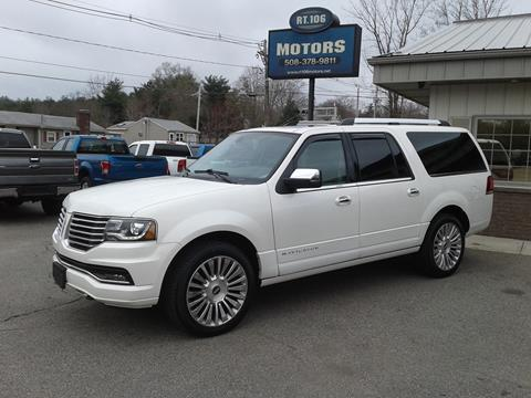 2016 Lincoln Navigator L for sale in East Bridgewater, MA