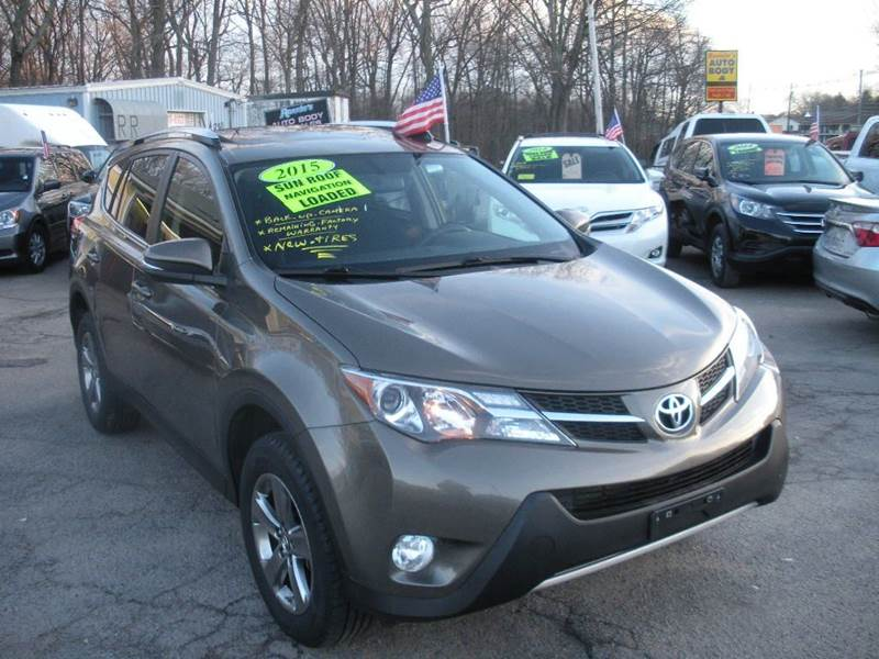 2015 Toyota RAV4 for sale at One Stop Auto Sales in North Attleboro MA