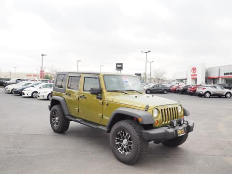 2008 Jeep Wrangler Unlimited for sale in Bourbonnais, IL