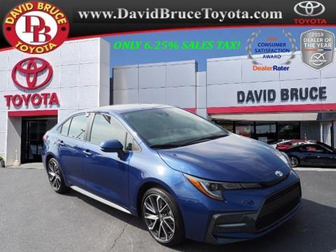 2020 Toyota Corolla for sale in Bourbonnais, IL