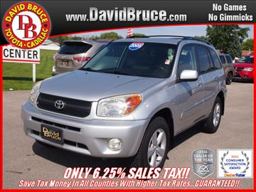2005 Toyota RAV4 for sale in Bourbonnais, IL