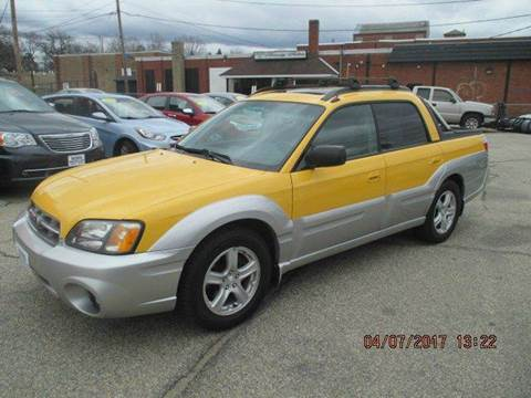 2003 Subaru Baja for sale in Manchester, NH