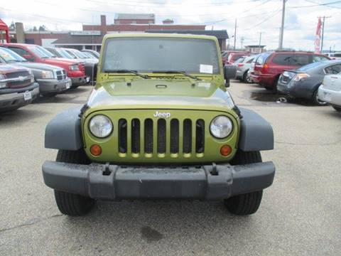 2008 Jeep Wrangler for sale in Manchester, NH