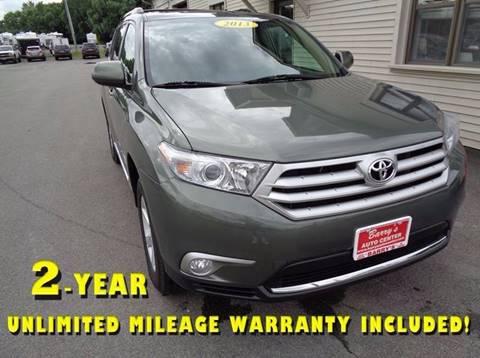 2013 Toyota Highlander for sale in Brockport, NY