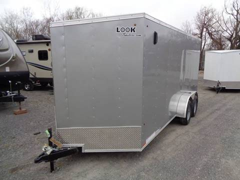 2020 Look Trailers STLC Cargo Deluxe 7 x 16 for sale in Brockport, NY