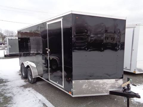 2020 Look Trailers 7 x 16 ST Cargo Deluxe for sale in Brockport, NY