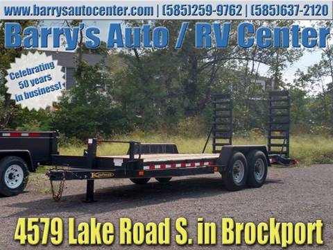2007 Kaufman 18ft Utility Trailer