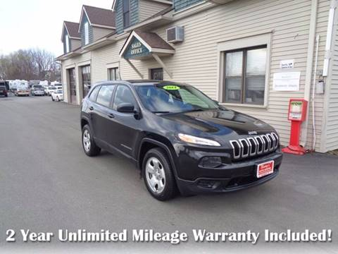 2014 Jeep Cherokee for sale in Brockport, NY