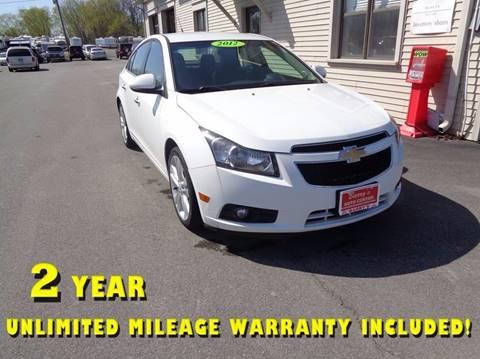 2012 Chevrolet Cruze for sale in Brockport, NY