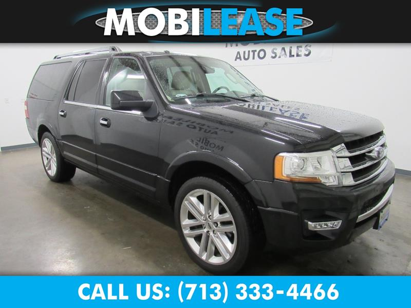 Ford Expedition El Xdr Suv Houston Tx