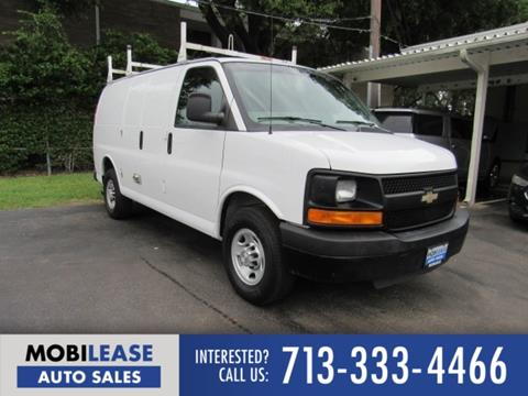 2016 Chevrolet Express Cargo for sale in Houston, TX