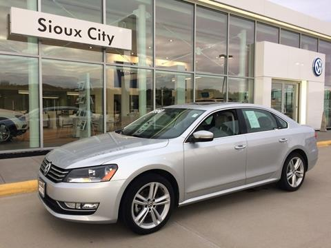 2015 Volkswagen Passat for sale in Sioux City, IA