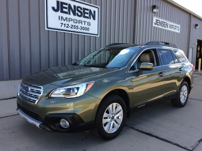 2016 Subaru Outback for sale at Jensen's Used Cars in Sioux City IA