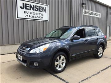 2014 Subaru Outback for sale at Jensen's Used Cars in Sioux City IA