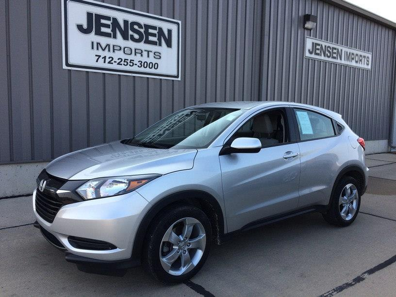 2016 Honda HR-V for sale at Jensen's Used Cars in Sioux City IA