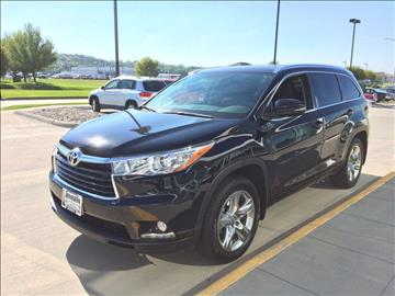 2016 Toyota Highlander for sale at Jensen's Used Cars in Sioux City IA