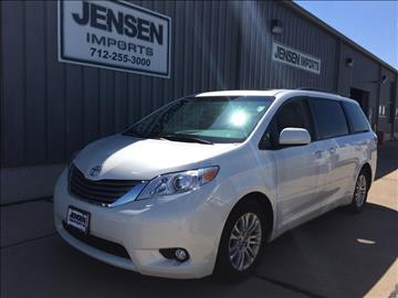 2015 Toyota Sienna for sale at Jensen's Used Cars in Sioux City IA