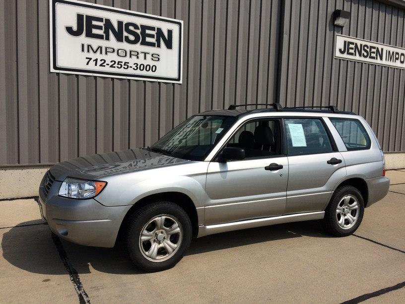 2006 Subaru Forester for sale at Jensen's Used Cars in Sioux City IA