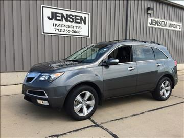 2011 Acura MDX for sale at Jensen's Used Cars in Sioux City IA