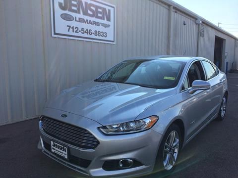 2015 Ford Fusion Hybrid for sale in Sioux City, IA
