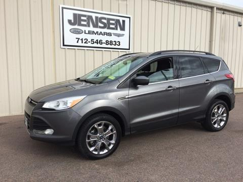 2014 Ford Escape for sale at Jensen's Used Cars in Sioux City IA