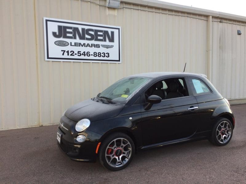 2012 FIAT 500 for sale at Jensen's Used Cars in Sioux City IA