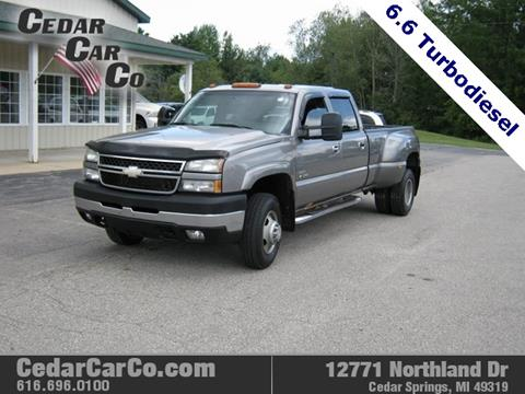2006 Chevrolet Silverado 3500 for sale in Cedar Springs, MI
