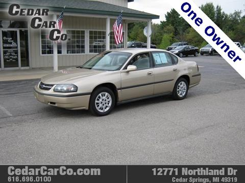 2004 Chevrolet Impala for sale in Cedar Springs, MI