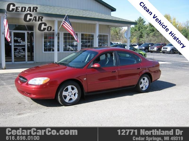 Cedar Car Co Used Cars Cedar Springs Mi Dealer