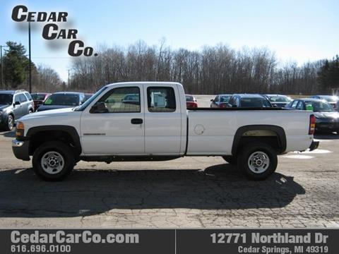 2006 GMC Sierra 2500HD for sale in Cedar Springs, MI