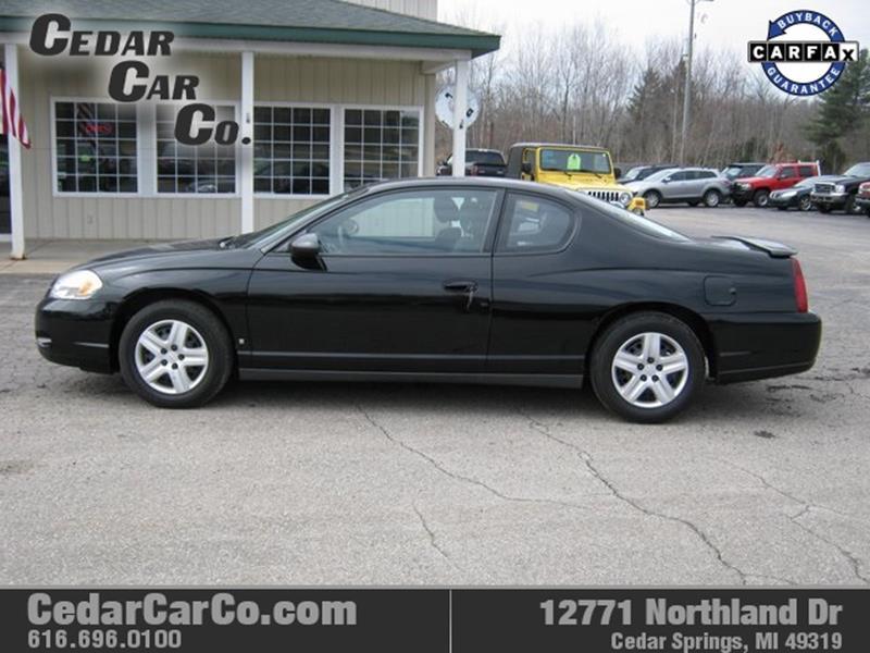 2007 Chevrolet Monte Carlo Ls 2dr Coupe In Cedar Springs Mi