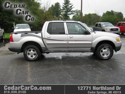 2004 Ford Explorer Sport Trac for sale in Cedar Springs, MI