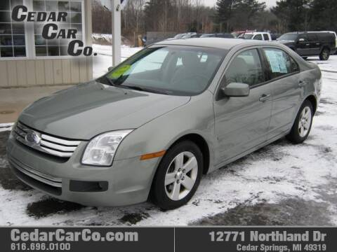 2009 Ford Fusion for sale at Cedar Car Co in Cedar Springs MI