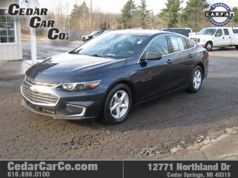 2017 Chevrolet Malibu for sale at Cedar Car Co in Cedar Springs MI