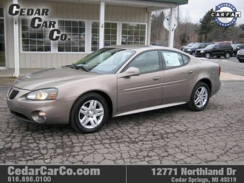 2007 Pontiac Grand Prix for sale at Cedar Car Co in Cedar Springs MI