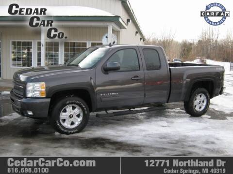 2010 Chevrolet Silverado 1500 for sale at Cedar Car Co in Cedar Springs MI