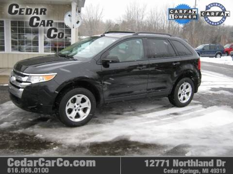 2013 Ford Edge for sale at Cedar Car Co in Cedar Springs MI