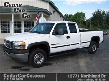 2001 GMC Sierra 2500HD for sale in Cedar Springs, MI