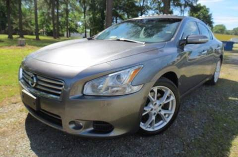 2014 Nissan Maxima for sale at CITY TO CITY AUTO SALES LLC in Richmond VA
