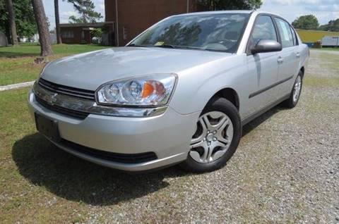 2005 Chevrolet Malibu for sale at CITY TO CITY AUTO SALES LLC in Richmond VA