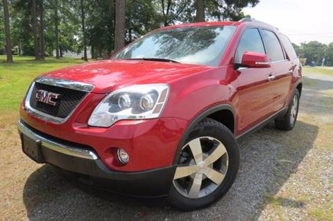 2012 GMC Acadia for sale at CITY TO CITY AUTO SALES LLC in Richmond VA