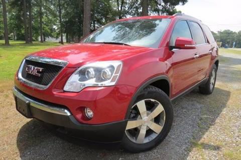 2012 GMC Acadia for sale at CITY TO CITY AUTO SALES LLC in Richmond VA