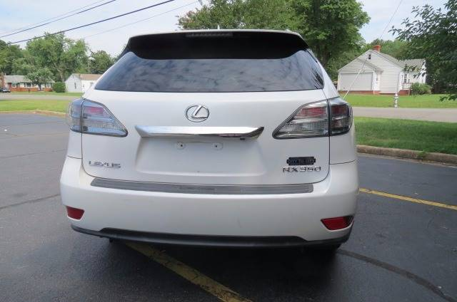 2010 Lexus RX 350 for sale at CITY TO CITY AUTO SALES LLC in Richmond VA