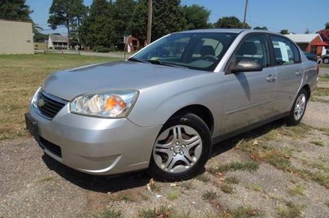 2006 Chevrolet Malibu for sale at CITY TO CITY AUTO SALES LLC in Richmond VA