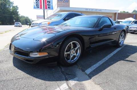 2000 Chevrolet Corvette for sale at CITY TO CITY AUTO SALES LLC in Richmond VA