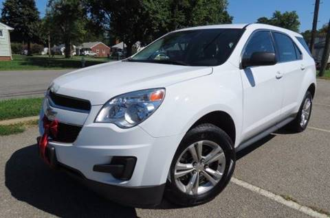 2015 Chevrolet Equinox for sale at CITY TO CITY AUTO SALES LLC in Richmond VA