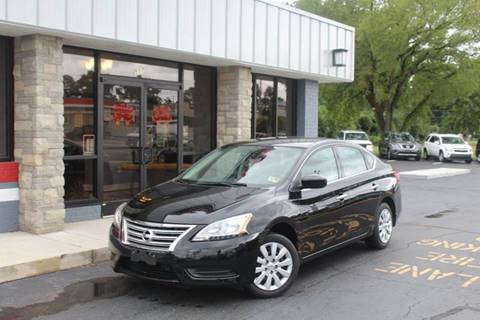 2015 Nissan Sentra for sale at City to City Auto Sales - Raceway in Richmond VA