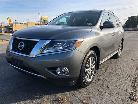 2015 Nissan Pathfinder for sale at City to City Auto Sales - Raceway in Richmond VA