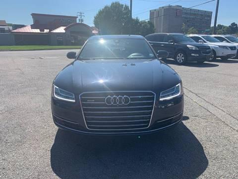 2015 Audi A8 L for sale at City to City Auto Sales in Richmond VA